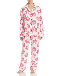 Lips Flannel PJ Set by PJ Salvage at Bloomingdales