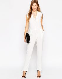 Liquorish  Liquorish Utility Jumpsuit With Zip Front at Asos