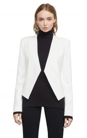 Lloyd Open-Front Layered Jacket by BCBGMAXZRIA at BCBGMAXAZRIA