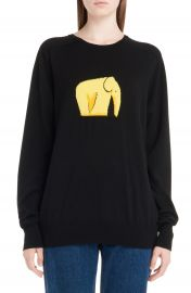 Loewe Jacquard Elephant Sweater at Nordstrom