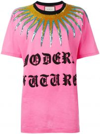 Logo Patch T-shirt by Gucci at Farfetch