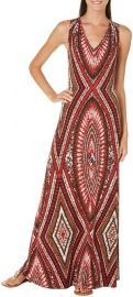 London Times Printed Maxi Dress at Amazon