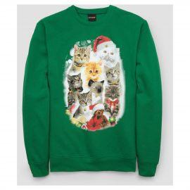 Long Sleeve Cat Fleece With Bells Fleece Sweatshirt by Fifth Sun at Target