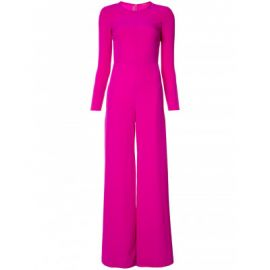 Long Sleeve CrewNeck Jumpsuit by Adam Lippes at The Webster