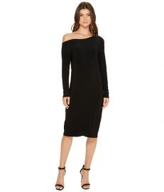 Long Sleeve Drop Shoulder Dress at Zappos