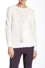 Long Sleeve Patchwork Sweater at Nordstrom Rack