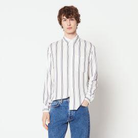 Long Sleeved Striped Shirt by Sandro at Sandro