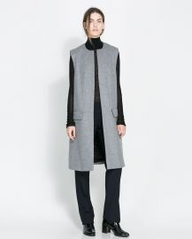 Long Vest at Zara