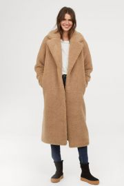 Long pile coat at H&M