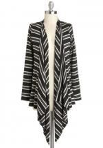 Long striped cardigan from Modcloth at Modcloth