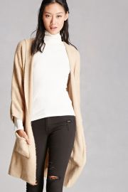 Longline Hooded Cardigan   Forever 21 - 2000251337 at Forever 21