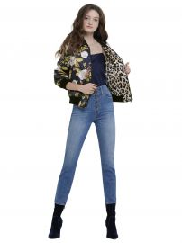 Lonnie Reversible Bomber by Alice + Olivia at Alice + Olivia