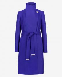 Lorili Long Coat at Ted Baker