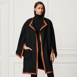Lorraine Wool-Cashmere Cape at Ralph Lauren