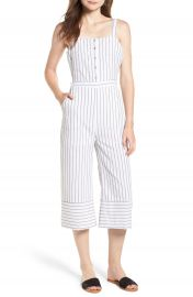 Lost   Wander Nieve Tie Back Stripe Jumpsuit at Nordstrom