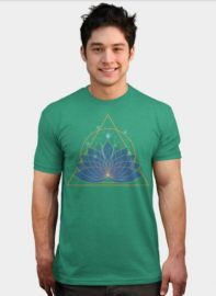 Lotus Tshirt at Design by Humans