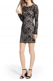 Love  Nickie Lew Open Back Body-Con Dress at Nordstrom