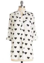 Love Ballad Tunic in White at ModCloth