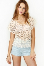 Love Fest Crochet Top at Nasty Gal