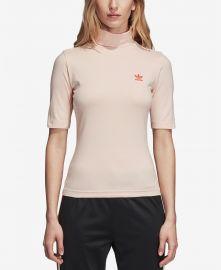 Love Mock-Neck T-Shirt at Macys