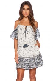 Love Sam Aria Cold Shoulder Short Dress at Revolve