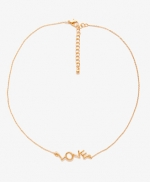 Love necklace at Forever 21 at Forever 21