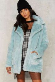 Love on the Brain Faux Fur Jacket at Nasty Gal