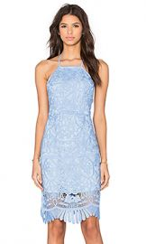 Lovers   Friends Nina Midi Dress in Crystal Blue from Revolve com at Revolve