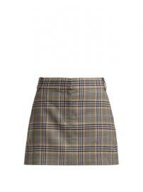Lucas check mini skirt at Matches