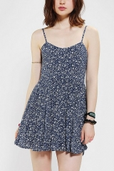 Lucca Couture Floral Babydoll Dress at Urban Outfitters
