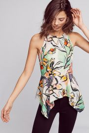 Lucille Peplum Blouse at Anthropologie