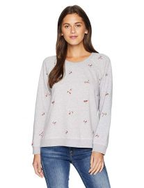 Lucky Brand Embroidered Sweatshirt at Amazon
