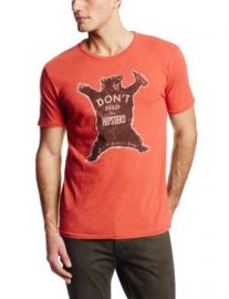 Lucky Brand Menand39s Donand39t Feed The Hipsters Graphic Tee Baked Apple Large  Amazoncom at Amazon