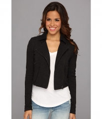 Lucky Brand Moto Jacket Lucky Black at Zappos