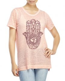 Lucky Brand Painted Hamsa Tee at Century 21