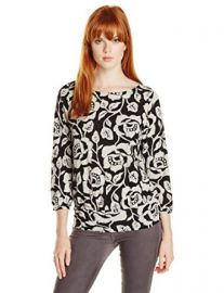 Lucky Brand Womenand39s Rose Vine Top at Amazon