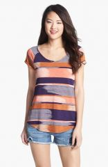 Lucky Brand and39Alinaand39 Print Tee at Nordstrom