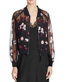 Lucy Paris Embroidered Bomber Jacket - 100  Bloomingdale  039 s Exclusive at Bloomingdales