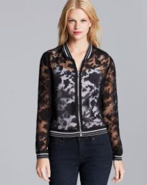 Lucy Paris Jacket - Organza Bomber at Bloomingdales