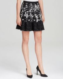 Lucy Paris Skirt - Intarsia Flared at Bloomingdales