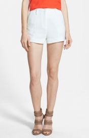 Lucy Paris and39Sunflowerand39 Stretch Woven Shorts at Nordstrom