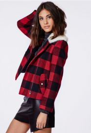 Lumberjack jacket at Missguided