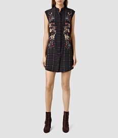 Luna Saloon Dress at All Saints