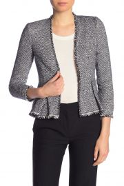 Lurex Tweed Knit Jacket by Rebecca Taylor at Nordstrom Rack