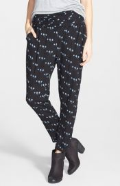 Lush Print Woven Pants at Nordstrom