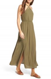 Lush Woven Maxi Dress at Nordstrom