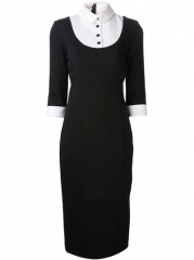 Lwren Scott Fitted Tux Dress - at Farfetch