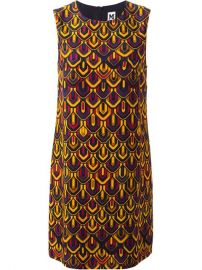 M Missoni Graphic Print Shift Dress - Fiacchini at Farfetch