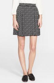 M Missoni Pleated Geometric Jacquard Skirt at Nordstrom