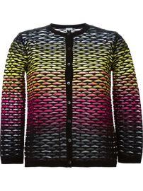 M Missoni Textured Knit Cardigan - Gaudenzi at Farfetch